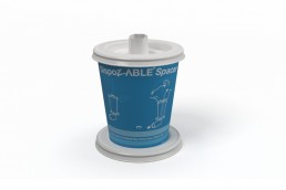 Able Spacer Disposable Cup image